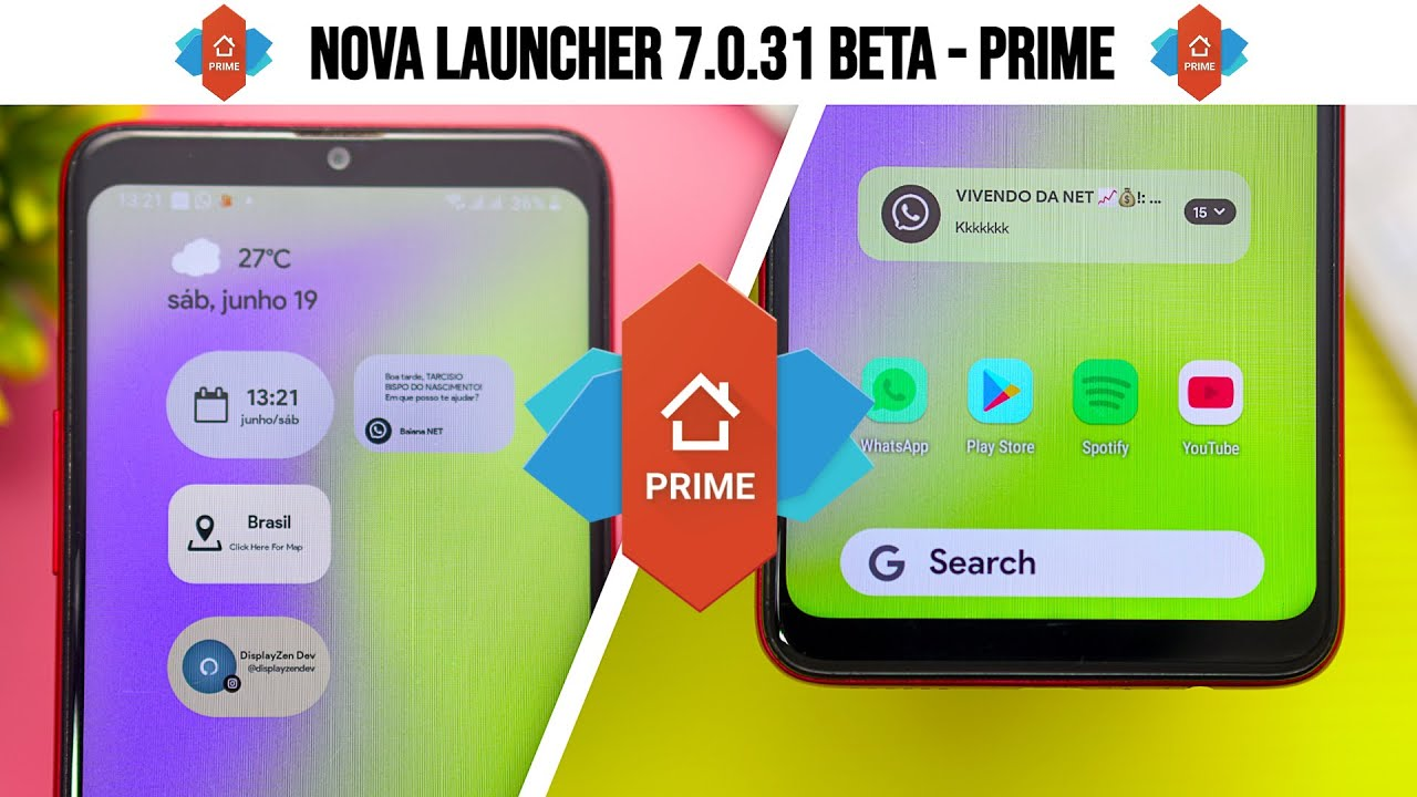 ✅[INÉDITO] SAIU!! AGORA!! Nova Launcher PRIME 7.0.31 apk PRO 2021