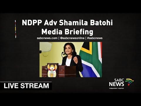 NDPP head Adv Shamila Batohi media briefing, 24 May 2019