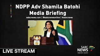 NDPP head Adv Shamila Batohi media briefing, 24 May 2019 thumbnail
