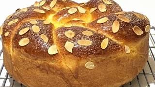 КОЗУНАК.Слоистый-пасхальный  пирог - кулич./Easter cake KOZUNAK