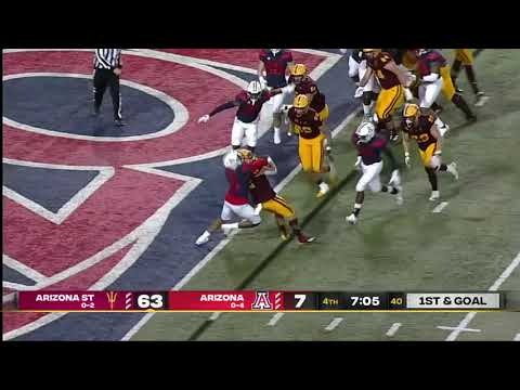 Sun Devils running back becomes first Chinese-born player to score TD in FBS History (Arizona State)
