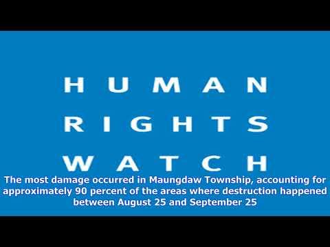 Burma: new satellite images confirm mass destruction