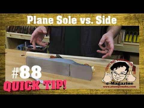 MYTH BUSTED? Laying A Hand Plane On Its Side Vs. Sole