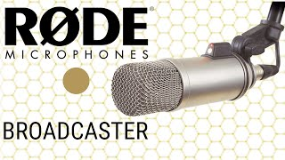 Rode Broadcaster Condenser Broadcast Microphone Test / Review