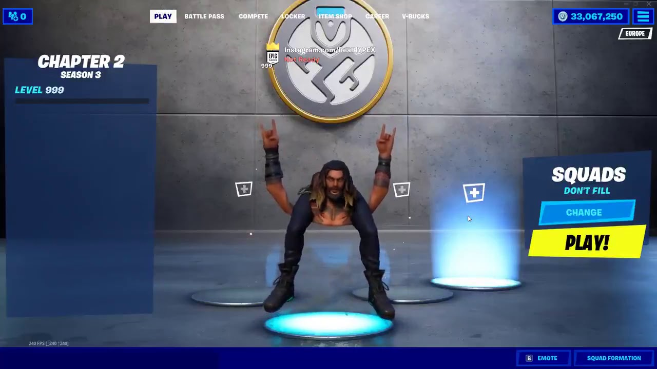 Fortnite season 3 emote abomination glitch