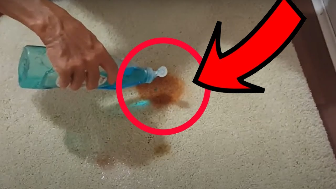 how to remove ketchup soy sauce stains from carpet in 5 minutes youtube. Black Bedroom Furniture Sets. Home Design Ideas