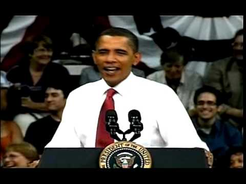 """Obama Story About: """"Fire it Up!"""" """"Ready to Go?"""" Slogan"""
