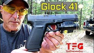 Glock 41 .45 ACP (Longslide) Range Review - TheFireArmGuy