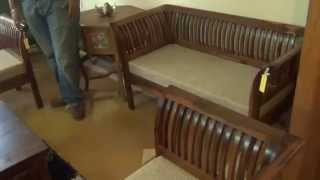 Teak Wood Furniture Demo @ Fab Home Bangalore | Shoppingadviser