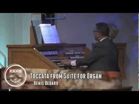Toccata From Suite for Organ - Denis Bedard