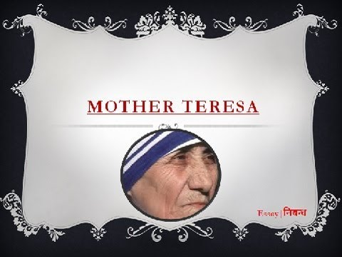 an essay on mother teresa in english language  an essay on mother teresa in english language