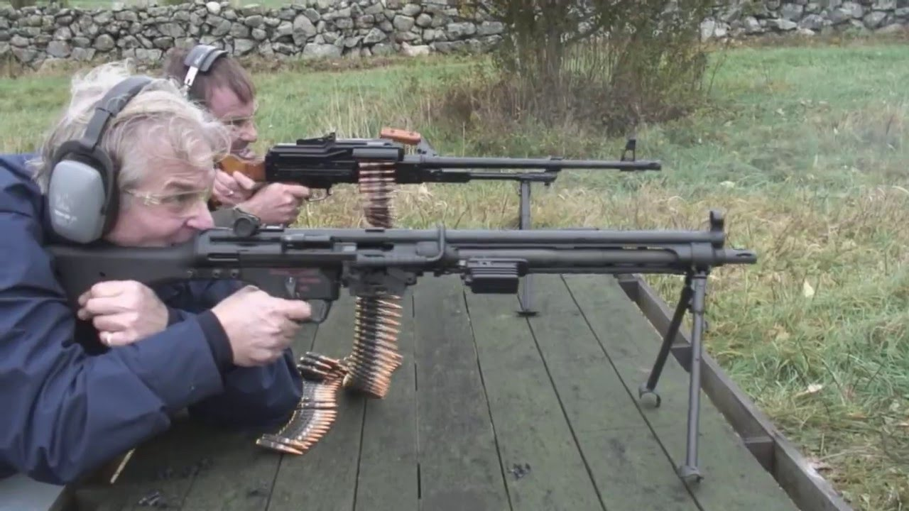Hk Mg And Pkm Youtube