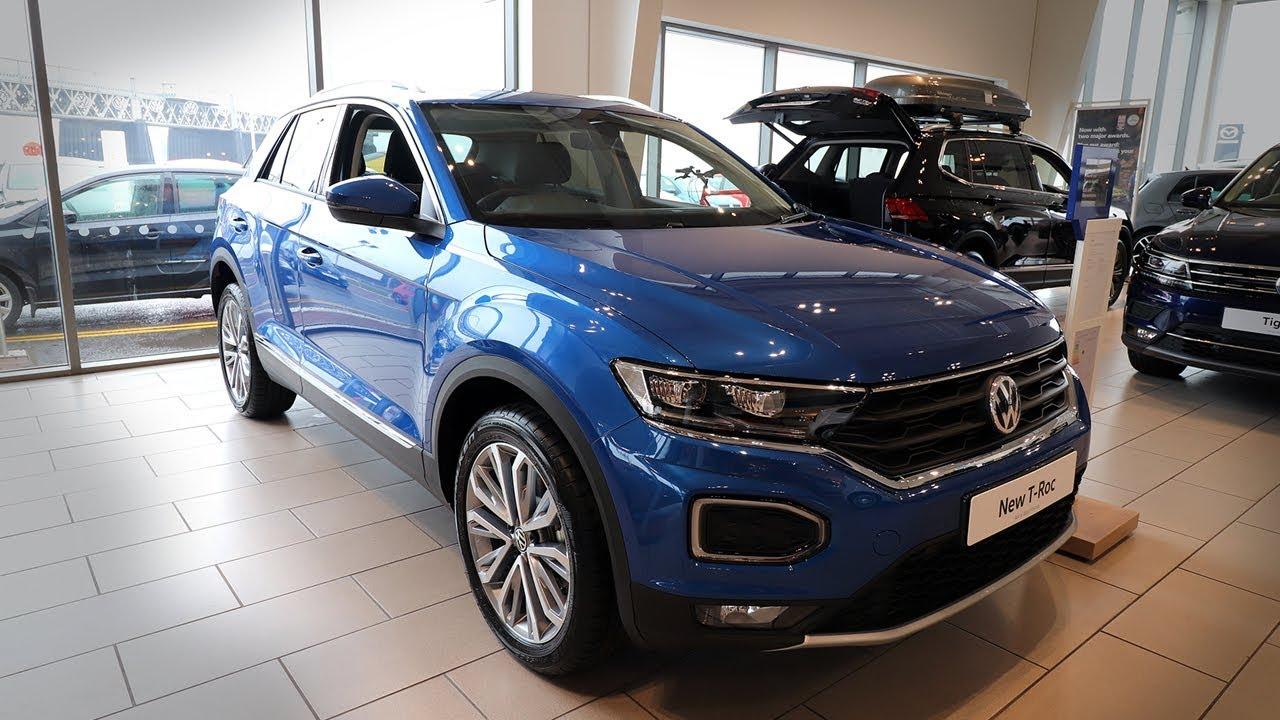 2018 volkswagen t roc sel quick review exterior interior