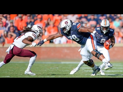 Auburn offensive lineman Darius James: March 7, 2017