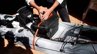 Moteur electrique sur kayak