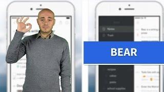 Bear - L'app per le note collegate!
