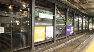 MBTA Green Line Power Department Wire Car passes Boylston