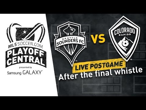 Seattle Sounders vs. Colorado Rapids Live Post-Game Show   MLS Playoff Central
