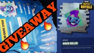 NEW FREE EXCLUSIVE DISCO BALLER SPRAY GIVEAWAY & SQUAD WITH SUBSCRIBERS