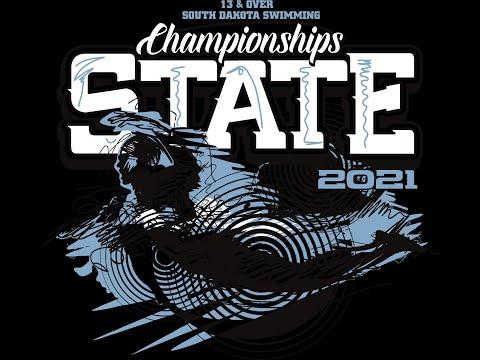 2021 South Dakota Swimming State Championship - age group 13 -14 - Session 2