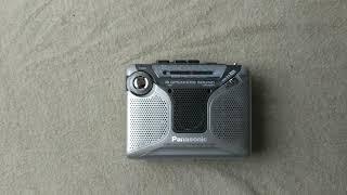 Panasonic stereo radio cassette recorder RQ-220
