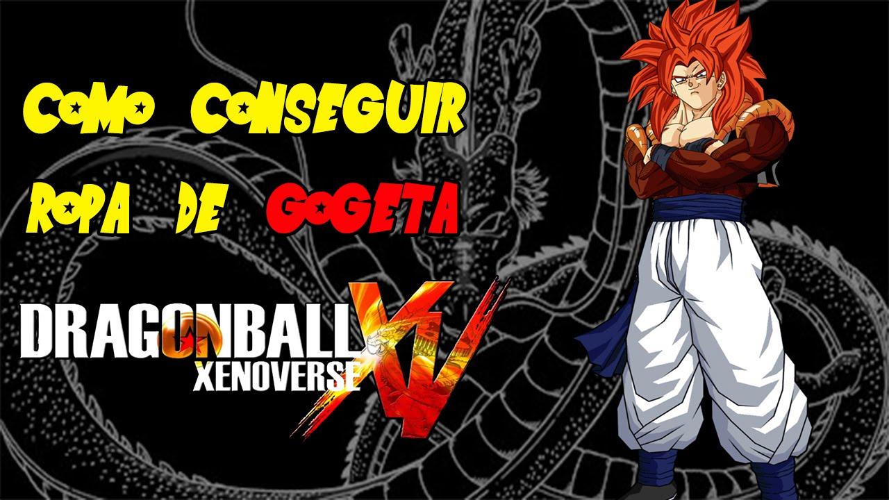 Armario Suspenso Escritorio ~ Dragon Ball Xenoverse Como conseguir la Ropa de Gogeta