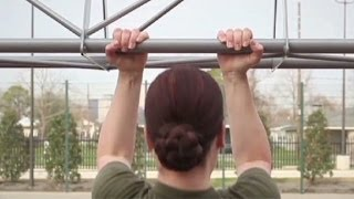 Female Marines and the 3 pull-up debate