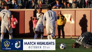 HIGHLIGHTS: Minnesota United FC v LA Galaxy | October 21, 2018