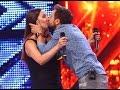 Download Prezentare: Tatiana Grişca, actuala şi fosta soţie a lui Dani, pe scena X Factor