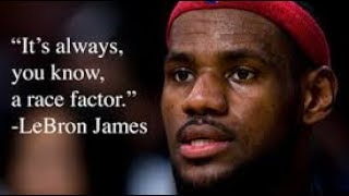 Racism, Lebron james Being Black in America is tough Racist graffiti Incident