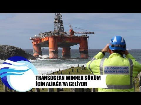 Transocean Winner söküm için Aliağa'ya geliyor