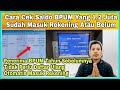 CARA CEK BPUM 2021 APAKAH SALDO 1,2 JUTA SUDAH MASUK REKENING | TANPA KE KANTOR MP3