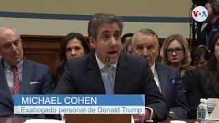 Cohen presenta demanda millonaria contra la Organización Trump