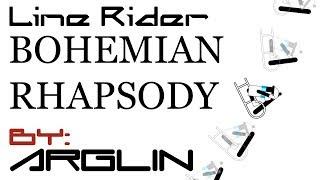 Line Rider - Bohemian Rhapsody | Synced