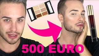 Full Face HIGH END Make Up | Maxim Giacomo