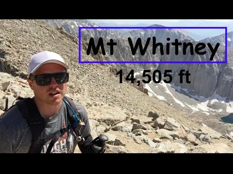 Mt Whitney. Would you hike the tallest US peak without training?