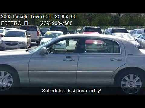 2005 Lincoln Town Car Signature Limited 4dr Sedan For Sale I Youtube