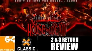 X-Play Classic - The House of the Dead 2 & 3 Return Review