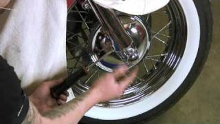 Softail Dyna Glide Harley Davdison Maintenance Video Tips 2