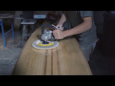 Learn to build a wooden surfboard with Bodhi Tree Surfboards