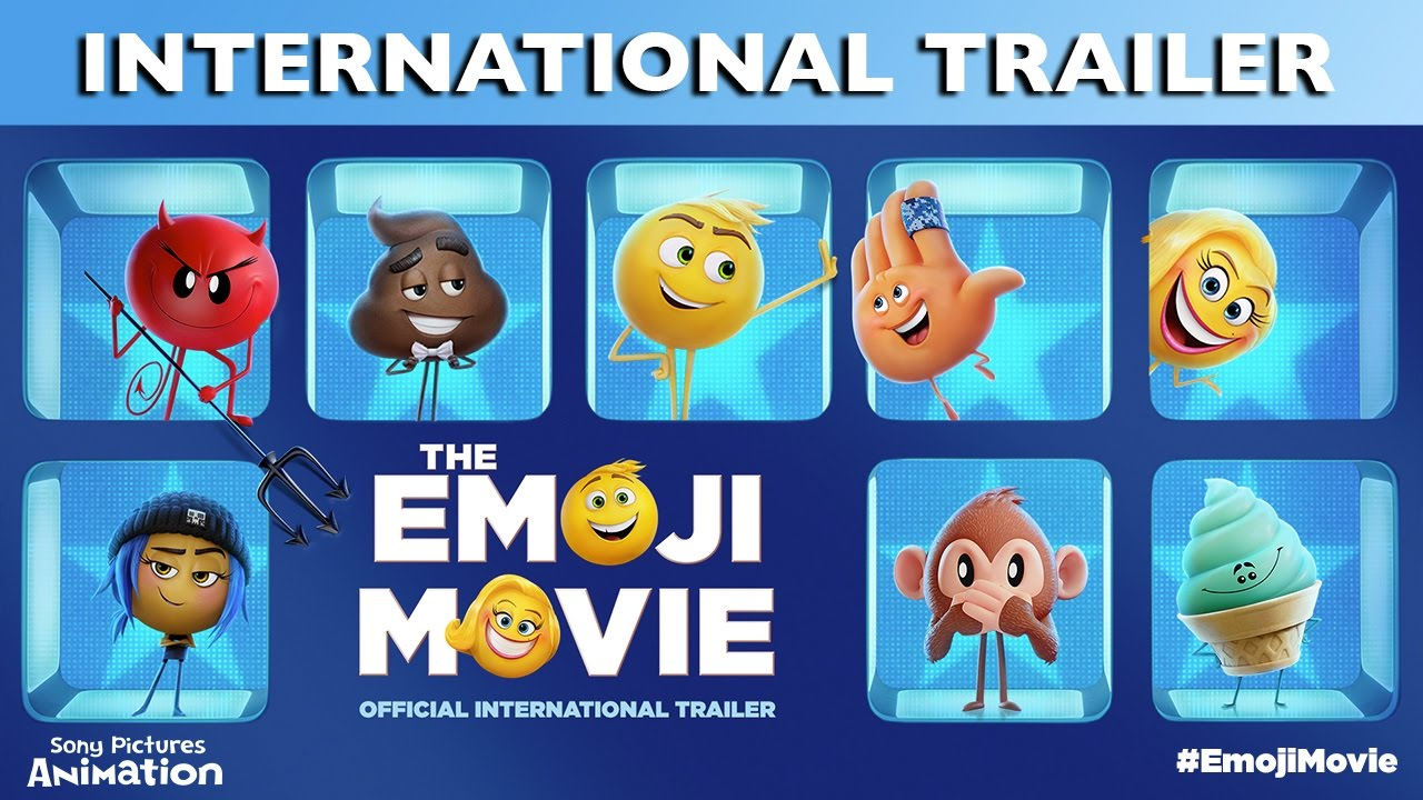 The Emoji Movie Official International Trailer Youtube