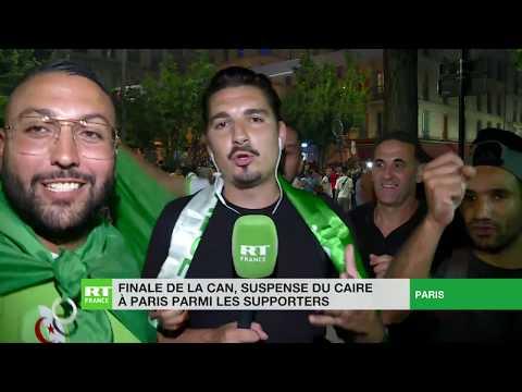CAN 2019 : Paris et Marseille fêtent la victoire de l'Algérie