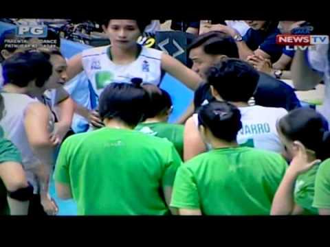 Shakeys V-League S12: Gizelle Tan, POG [ADMU v. TIP ...