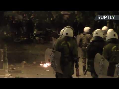 LIVE Greeks protest Obama's visit to Athens