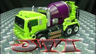 JUST TRANSFORM IT!: JinBao KO Upscaled Generation Toy Mixer Truck
