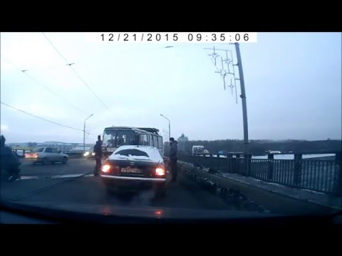 Авария на Кузнецком мосту 21.12.15