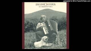 Pauline Oliveros - Horse Sings from Cloud (Part 1)