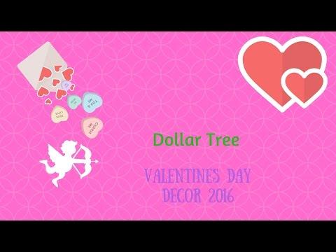 Valentine's Day Dollar Tree Haul 2016