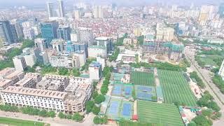 Khung cảnh thực tế từ tầng cao Dự án Sky Park Residence - Số 3 Tôn Thất Thuyết, Cầu Giấy, Hà Nội thumbnail