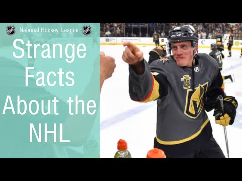 What are some of the most strange/obscure facts in the NHL?